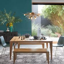 expandable wood dining table anderson solid wood expandable dining table caramel west elm