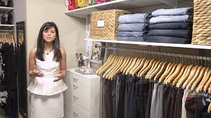 how to organize a woman u0027s master closet organizedliving com