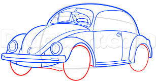 hippie volkswagen drawing how to draw a vw beetle step by step cars draw cars online