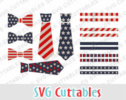 American Flag Suspenders Fourth Of July Svg Tie Svg Bow Tie Svg Suspenders Svg Eps Dxf