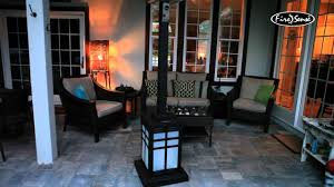 Firesense Table Top Patio Heater by Fire Sense Square Illuminated Propane Patio Heater 60951 46000