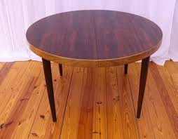 Rosewood Dining Room by Danish Mid Century Modern Rosewood Dining Table By Kai
