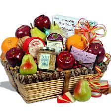 organic fruit gift baskets orchard s abundance fruit gift basket organic fruit gift and