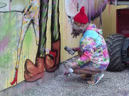 facebook muralist david choe begins work at the bowery graffiti slideshow
