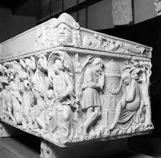 the rhetoric of mythological sarcophagi praise lament and