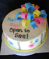 he or she surprise baby cake i would change the wording to