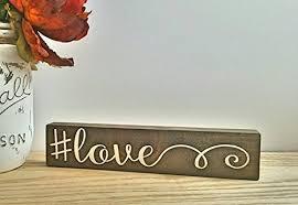 amazon com hashtag sign shabby chic decor desk accessories