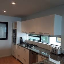 spray painting kitchen cupboards auckland great surfaces home