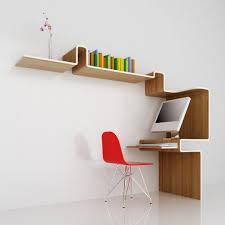 Space Saving Home Office Desk K Workstation A Space Saving Home Office Design By Misosoup