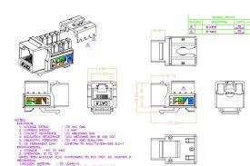 cat 6 connector wiring diagram wall jack how to make cat6 patch