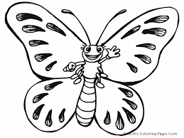drawing butterfly for kids butterfly drawing for kids image