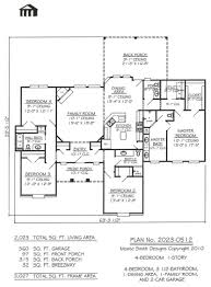 1 Storey Floor Plan 2 Story Home Plans Without Garage