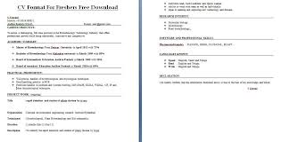 resume templates for freshers free download cv resume format download cv format for freshers free download