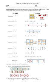 grad math grade 2 math second periodic test