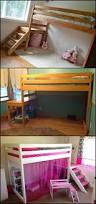 bunk beds double bunk bed with slide ikea kura bed loft bed with