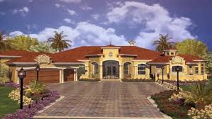 Spanish Homes Plans by Spanish House Style Plans Youtube