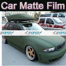 car wrapping paper matte green vinyl car wrap army green foil wrapping