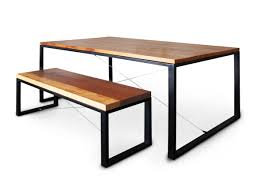 Dining Table And 2 Benches 2