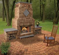 Fireplace Tv Stand Menards by Wonderfull Design Menards Outdoor Fireplace Bradford With Double