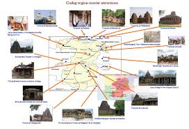 North India Map by North India Map With Tourist Places