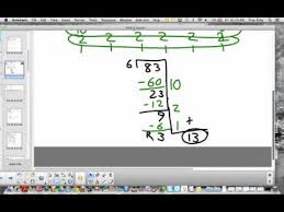partial quotient division for 4th graders youtube
