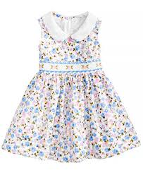 bonnie baby thanksgiving bonnie baby floral print smocked dress baby dresses kids