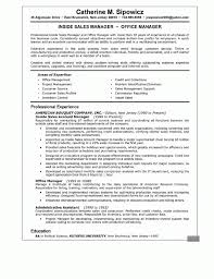 Office Manager Sample Resume Executive Resumes Templates Saneme