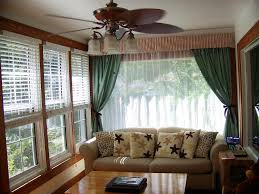 Decorative Curtains Decor Interior Ceiling Fan With Light For Living Room Decor With
