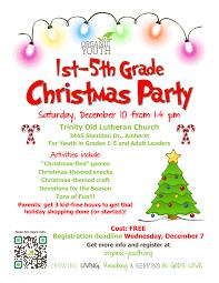 1st 5th grade christmas party u2013 organic youth