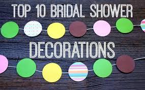 wedding shower decoration ideas top 10 bridal shower decorations