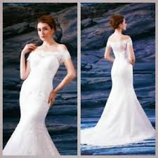 venus wedding dresses venus bridal mermaid the shoulder wedding dress size 12 14 rrp