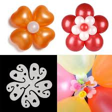 bae flowers and balloon at the elixir party pack of 75 layer 11 in 1 clear white plastic