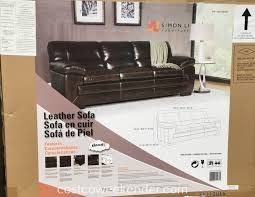 simon li leather sofa costco furniture elegant simon li furniture for mesmerizing home furniture