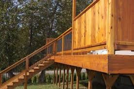 photos waits deck by sound cedar