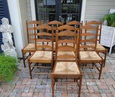 Antique Oak Ladder Back Chairs Antique Ladder Back Rush Seat Chair Antique Ladder And Dark