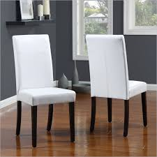 White Leather Dining Room Chairs Faux Leather Dining Room Chairs Chair Design Ideas White