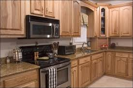 Rustic Hickory Kitchen Cabinets Here U0027s A Modern Kitchen With Hickory Cabinetry And Granite