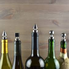 stainless steel wine bottle stoppers air nebula designer wine