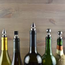 stainless steel wine bottle stoppers air nebula designer wine