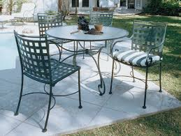 Patio Table And 4 Chairs Amazing Wrought Iron Patio Table And 4 Chairs Decor Modern On Cool