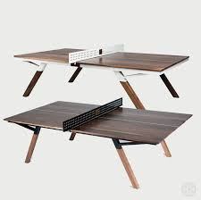 stores that sell ping pong tables the woolsey walnut wood ping pong table dining table