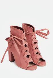 justfab s boots scotia in rosette get great deals at justfab