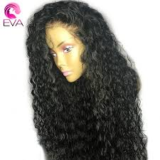 curl in front of hair pic eva hair curly lace front human hair wigs for black women 10 26