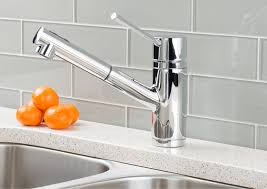 kitchen faucets stainless steel pull out hahn modern duo single lever pull out kitchen faucet chrome png