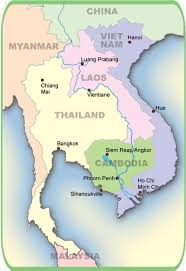 Map Of Cambodia Cambodia Travel Guides Canby Publications Siem Reap Phnom