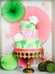 Tropical Theme Wedding - tropical themed wedding cake u2013 virginia bride magazine