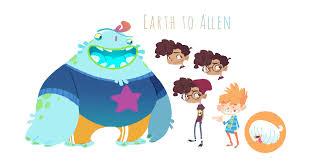 nicholas kole alien cartoon studies