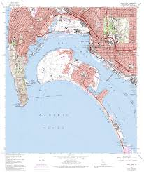 Map Of San Diego by Topographic Maps Of San Diego County California