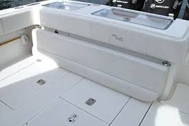 Rear Bench Seat For Boat Center Consoles Luxury Edition Seavee Boats