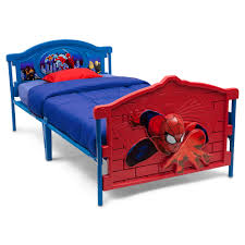 marvel spider man 3d twin bed walmart